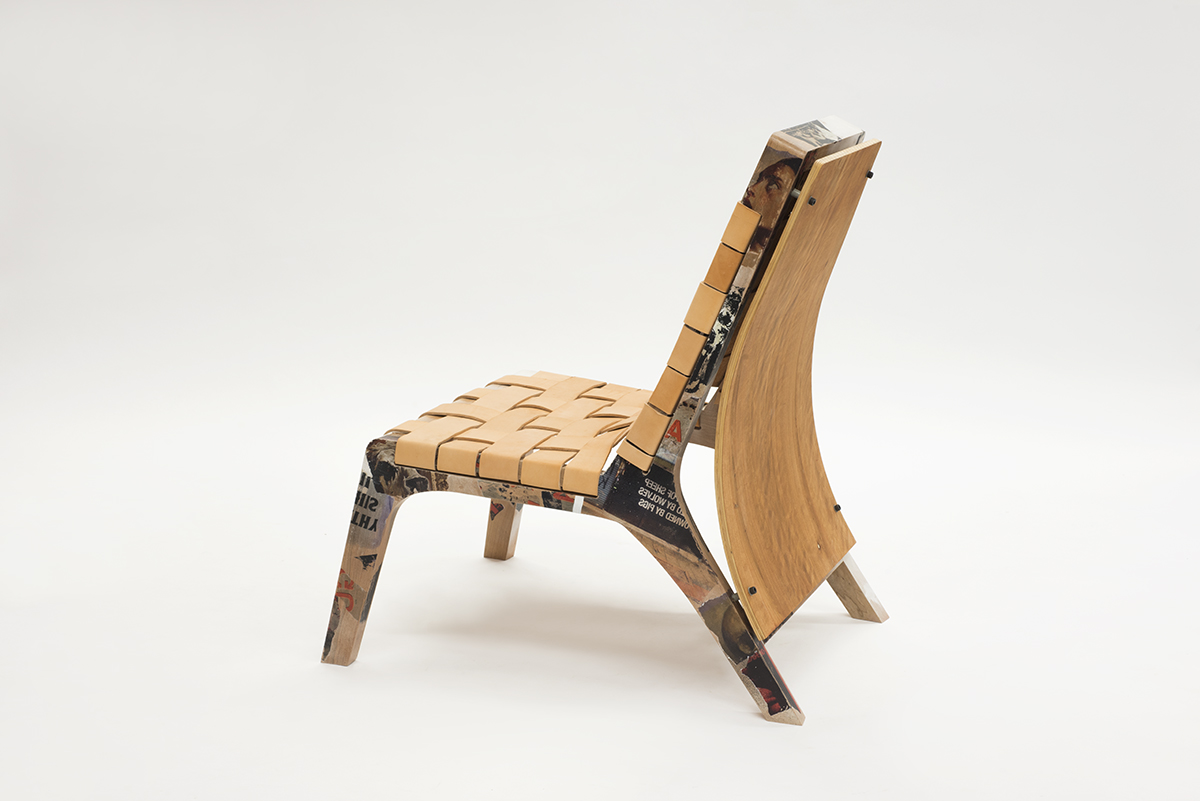 Jean ren douville tessier f ing awesome chair cole for Meuble junior montreal
